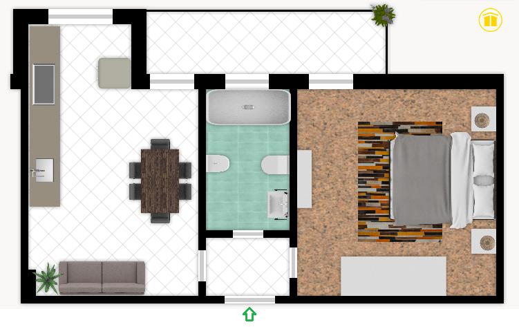 Plan 12 villa giusti